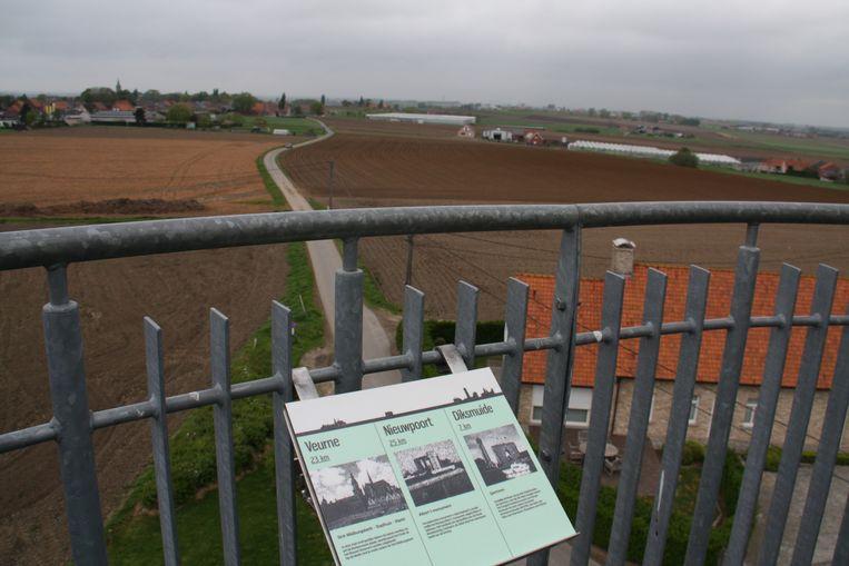De Vredesmolen in Klerken is door Westtoer al erkend als uitkijkpunt.