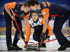 Curlers kunnen stunt op EK geen vervolg geven
