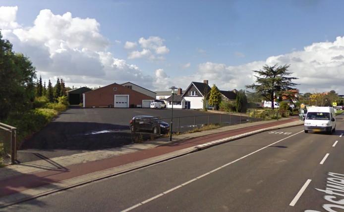De loods aan de Postweg in Tholen.
