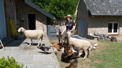"""Sofie (22) bouwt achtertuin om tot centrum voor allerzwaksten: """"Een bejaardentehuis voor zieke dieren"""""""