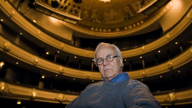 Bram van der Vlugt dinsdag in de Koninklijke Schouwburg in Den Haag Beeld ANP