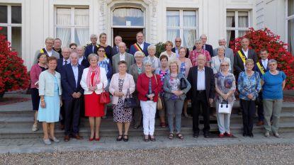 75-jarigen Doornzele vieren feest