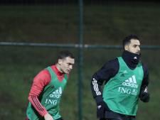 Chadli et Vermaelen absents contre Chypre