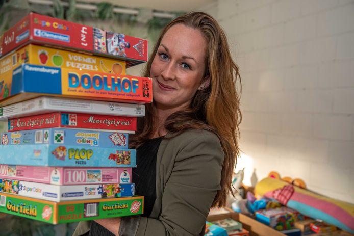 Maaike van Leeuwen zette met haar man Hanno de actie 'Fijne feestdagen voor iedereen' op.