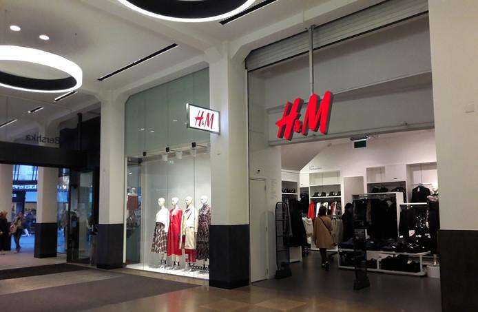 De huidige H&M in de Barones.