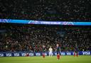 Fans tijdens Frankrijk - Zuid-Korea.