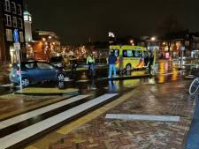 Fietser aangereden door automobilist in het centrum van Veenendaal
