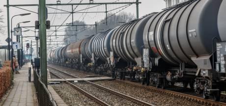 Bouwers en bewoners bang voor meer giftreinen door Eindhoven en Helmond