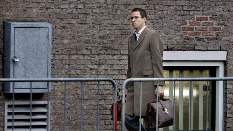 Victor Koppe tijdens proces Samir A. Beeld ANP