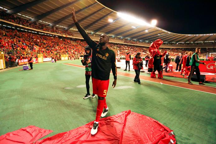 Romelu Lukaku a particulièrement apprécié l'attention des supporters à son égard.