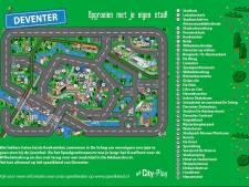 Kids kunnen spelenderwijs Deventer hotspots ontdekken: waar staat De Adelaarshorst?
