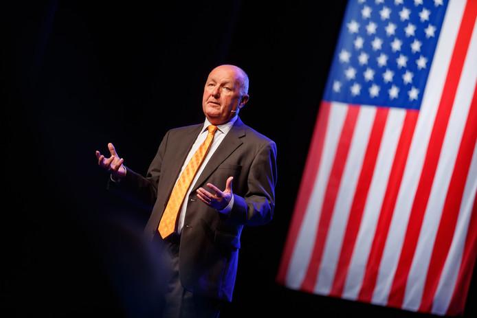 Archiefbeeld: lezing VS-ambassadeur Pete Hoekstra