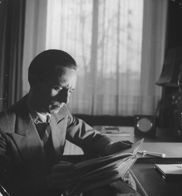 Joseph Goebbels. Beeld Getty