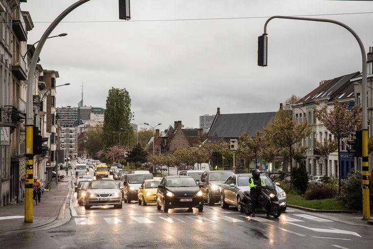 Op de rest van de stadsring - weg van de Dampoort dus - was het in 2019 niet drukker dan in 2018.