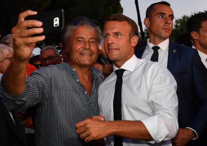 Le selfie, même (surtout!) avec le Président