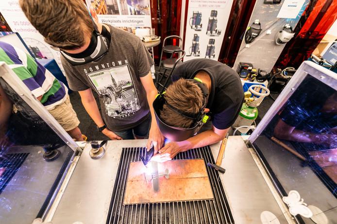 Leerlingen konden ook vorig jaar al meedoen aan technische activiteiten bij KempenTech.