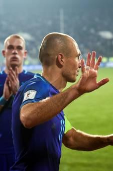 Aanvoerder Robben blijft toch bij Oranje