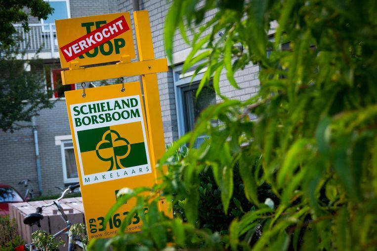 In het eerste kwartaal werden 83 duizend nieuwe hypotheken aan de man gebracht, een stijging van ruim 32 procent ten opzichte van een jaar eerder. Beeld anp