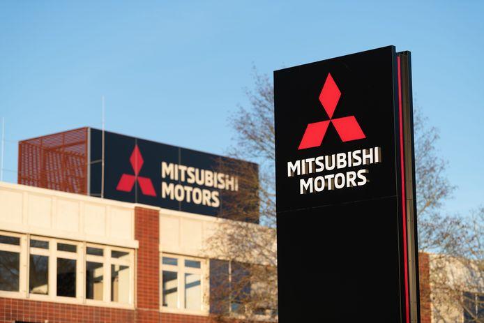 Een vestiging van Mitsubishi in Friedberg, Duitsland