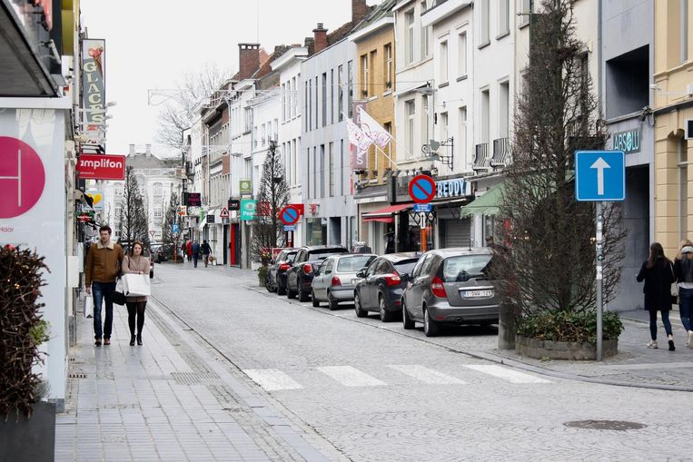 Het bleef opvallend rustig in de Oudenaardse winkelstraten.
