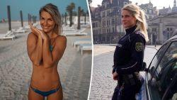 'Mooiste agente van Duitsland' moest kiezen tussen job bij politie en Instagram en ze heeft voor zekerheid gekozen