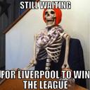 De gewraakte meme waarin Liverpool op de hak wordt genomen.