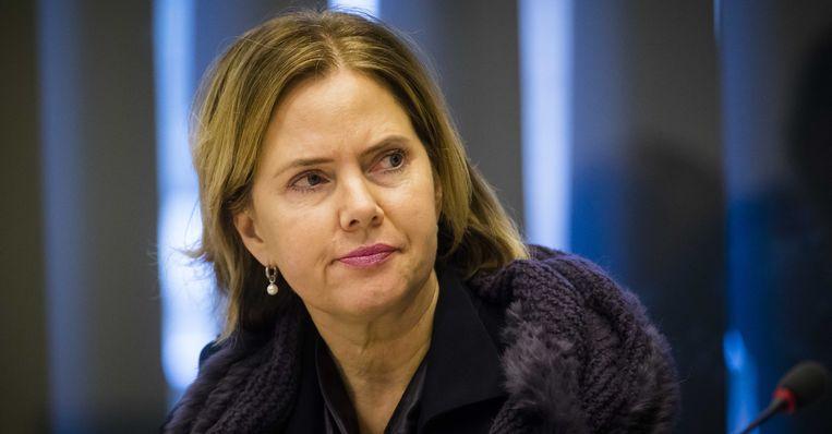 Minister Cora van Nieuwenhuizen van infrastructuur en waterstaat (VVD)  Beeld ANP