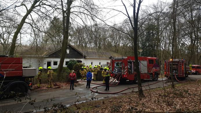 Grote brand in Oosterbeek