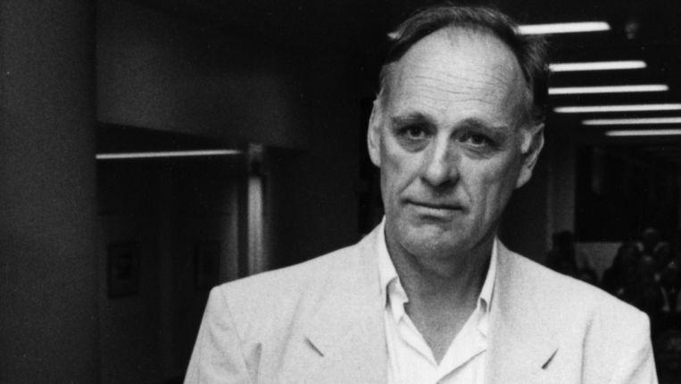 Hugo Brandt Corstius ontvangt de P.C. Hooft-prijs in het Nederlands Letterkundig Museum en Documentatiecentrum in Den Haag Beeld anp
