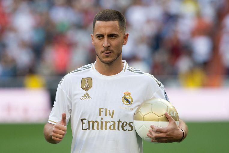 Eden Hazard zal in actie komen met Real Madrid.