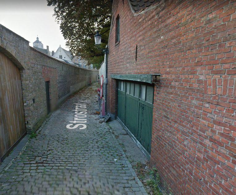 De Strostraat in Brugge.
