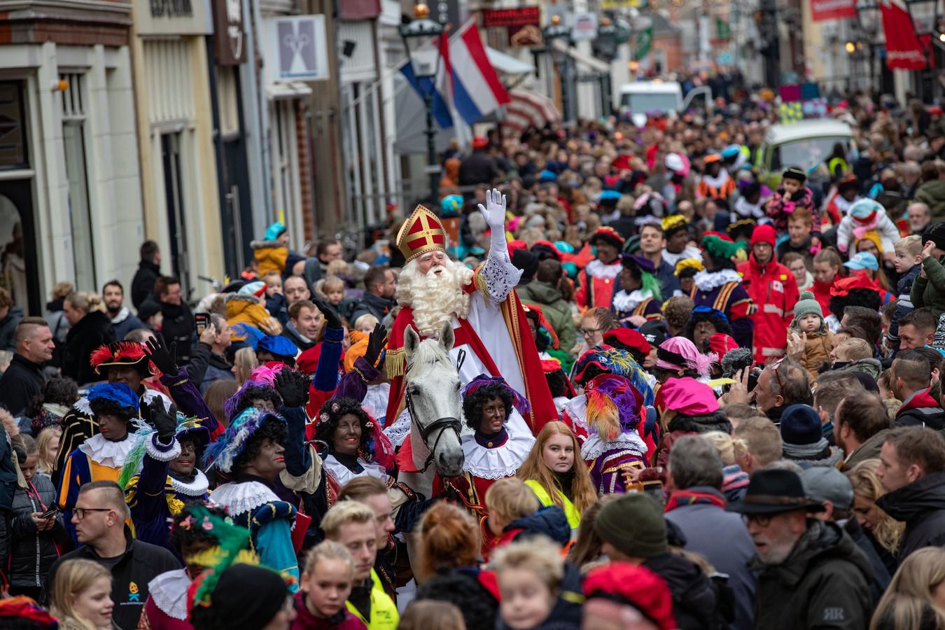 Sinterklaas in Kampen.