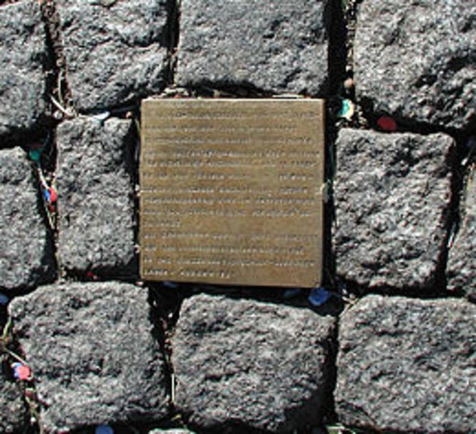 Eerste Stolperstein in Keulen