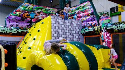 750 kinderen leven zich uit tijdens Spring-Sprong Festival