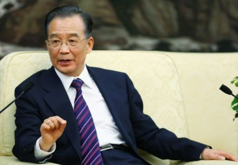 De Chinese premier Wen Jiabao. ANP Beeld