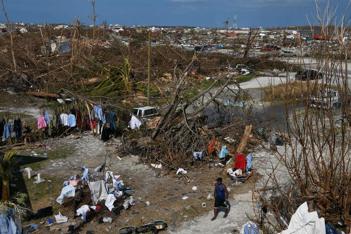 De orkaan heeft een ongekende ravage aangericht in de eilandenstaat.
