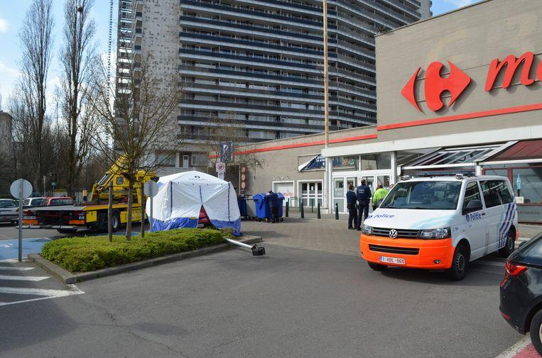 Dodelijk ongeval op Brico-parking in Anderlecht
