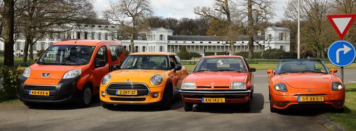 Ook dit jaar start de Oranje-rit weer tegenover Paleis Soestdijk.