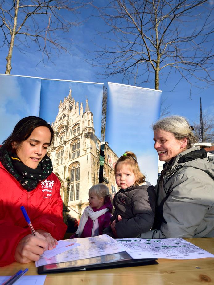 Stadsvisie 2030. Janna de Jong gaf eerder dit jaar haar mening over hoe Gouda er in 2030 uit moet zien.