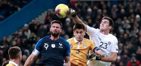 Giroud voorkomt blamage Frankrijk