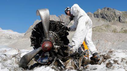 Vliegtuigwrak op Zwitserse gletsjer na 72 jaar geborgen