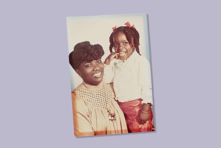 Gerda met haar dochter, toen 4 jaar oud. Beeld Prive archief Gerda Havertong