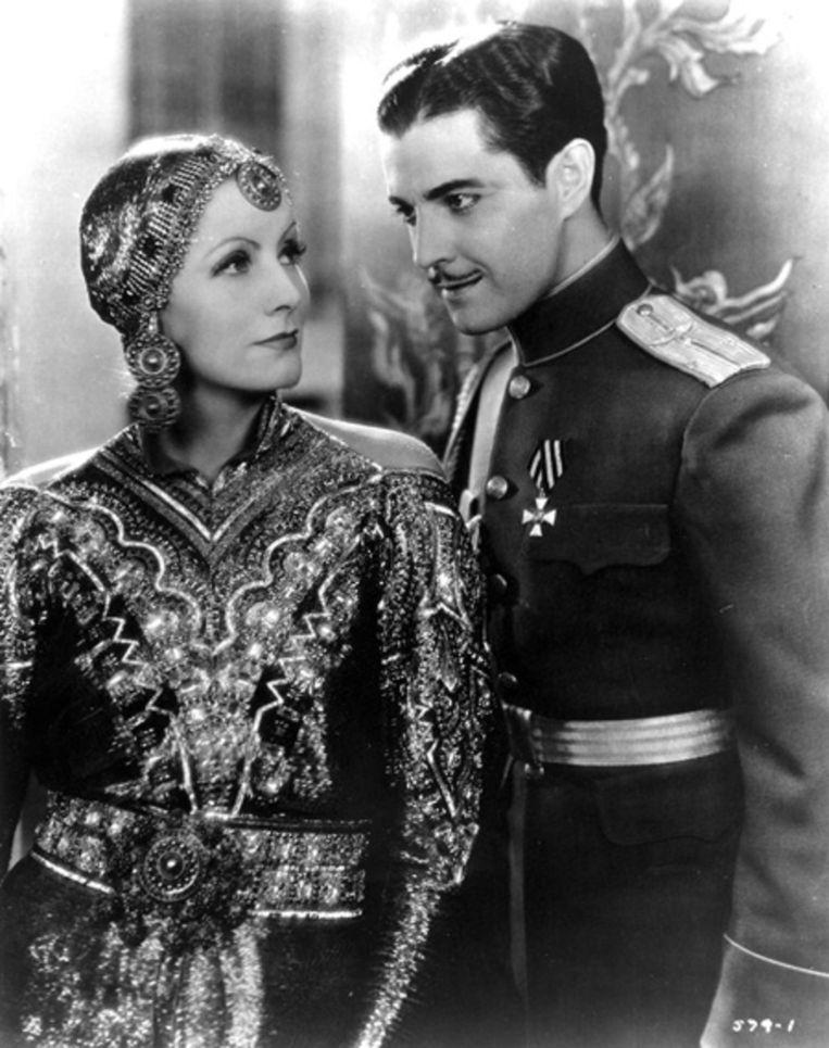 Greta Gerbo als Mata Hari in 1931. Beeld