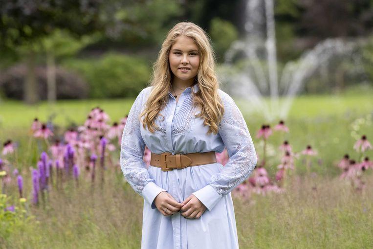 De Nederlandse prinses Amalia. Beeld ANP
