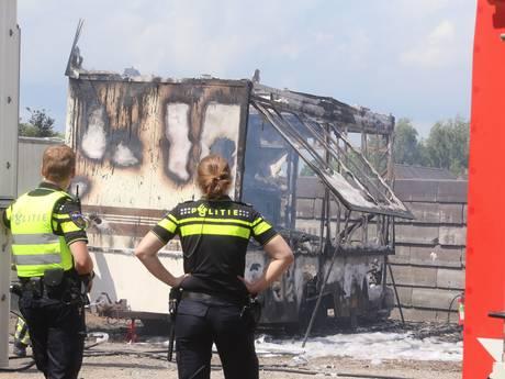 Wafelkraam gaat in vlammen op in Velddriel