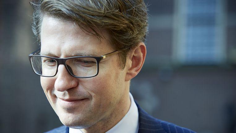Staatssecretaris Sander Dekker van onderwijs. Beeld anp