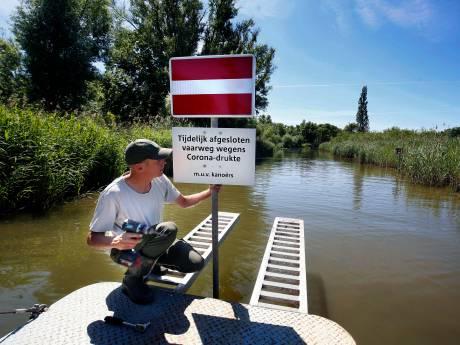 Het wordt veel te druk in de Biesbosch, Staatsbosbeheer sluit kreken af met Pinksteren