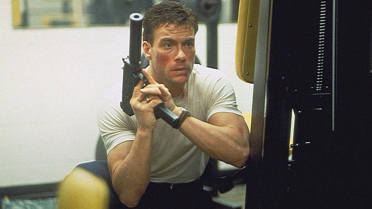 Jean-Claude van Damme in Sudden Death. Beeld