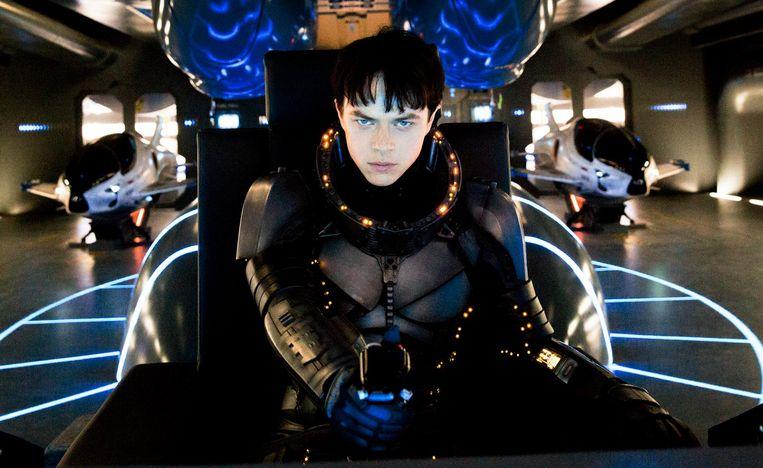 De film is tot de nok toe gevuld met doordachte varianten op menselijke technologie en ontwikkelingen. Beeld Lou Faulon / STX Entertainment Motion Picture Artwork