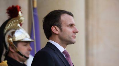 """Macron: """"11 maart voortaan nationale dag ter ere van terreurslachtoffers"""""""
